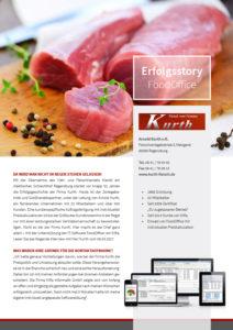 Erfolgsstory Fleischzerlegebetrieb Kurth & Softwarelösung FoodOffice