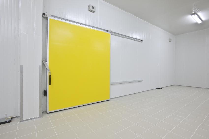 Schlachtung gelbe Tür
