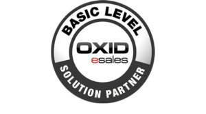 Logo Oxid Basic Level Solution Partner
