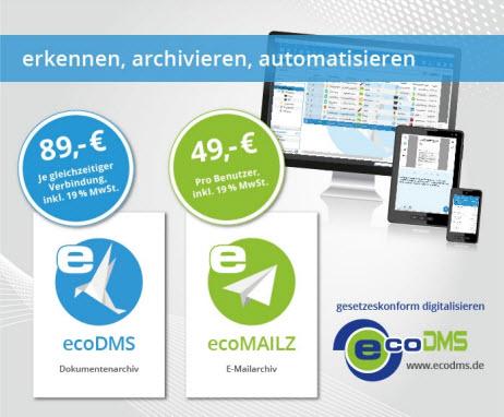 EcoDMS Preismodell