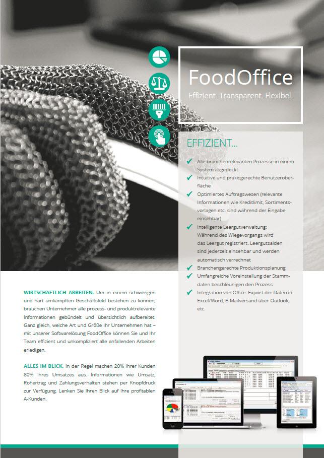 Broschüre FoodOffice