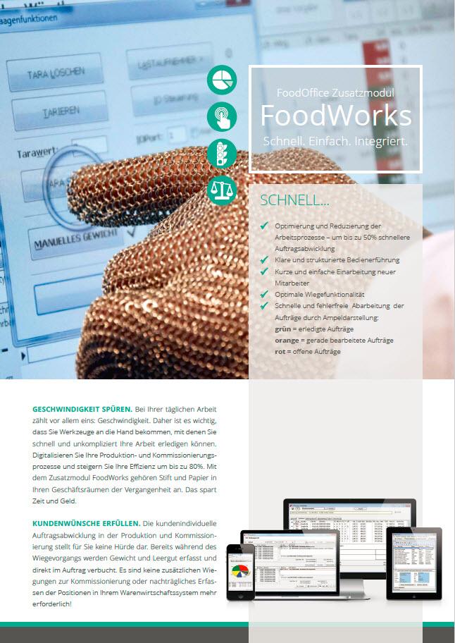 Broschüre Foodworks
