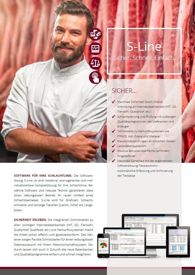 Sline Broschüre